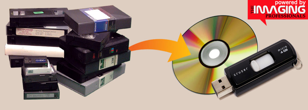 Videotape VHS to DVD